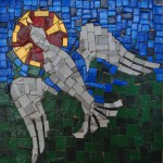 Dove & halo mosaic